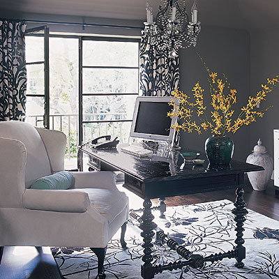 Home Office Decor Ideas on Modern Home Office Decorating Ideas